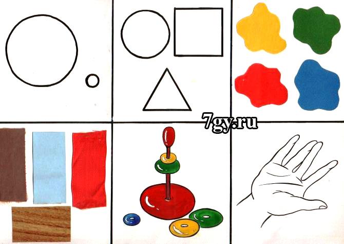 Картинки-схемы с алгоритмом по составлению рассказа-описания