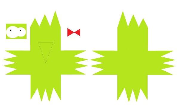 Дятел Тюк-тюк из бумаги, мультик Бумажки