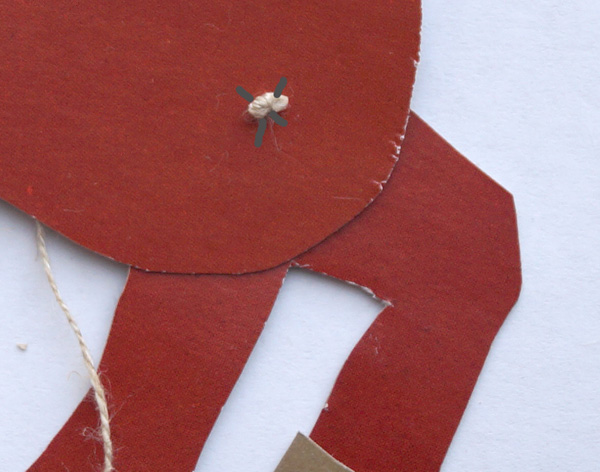Лошадка из картона с подвижными частями. Технология 2 класс