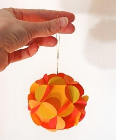 Как сделать шар из бумаги и все