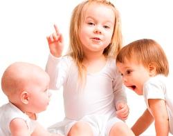 Развитие ребенка от года до трех лет