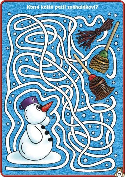 путаница тему картинки на зимнюю
