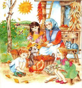 Про осень детям 4,5,6 лет