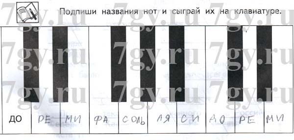 Музыка 3 класс сергеева критская рабочая тетрадь решебник