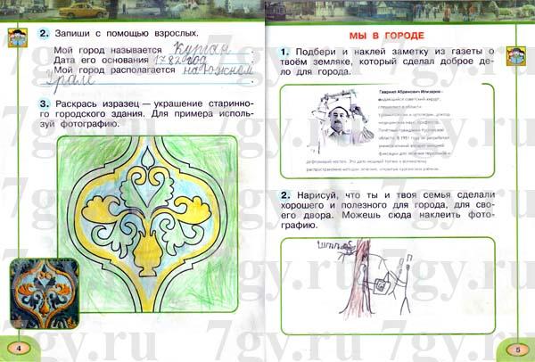 Гдз окружающий мир 1 класс плешаков учебник