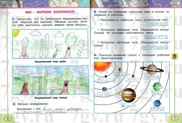 ГДЗ ответы окружающий мир Новицкая, Плешаков 4 класс