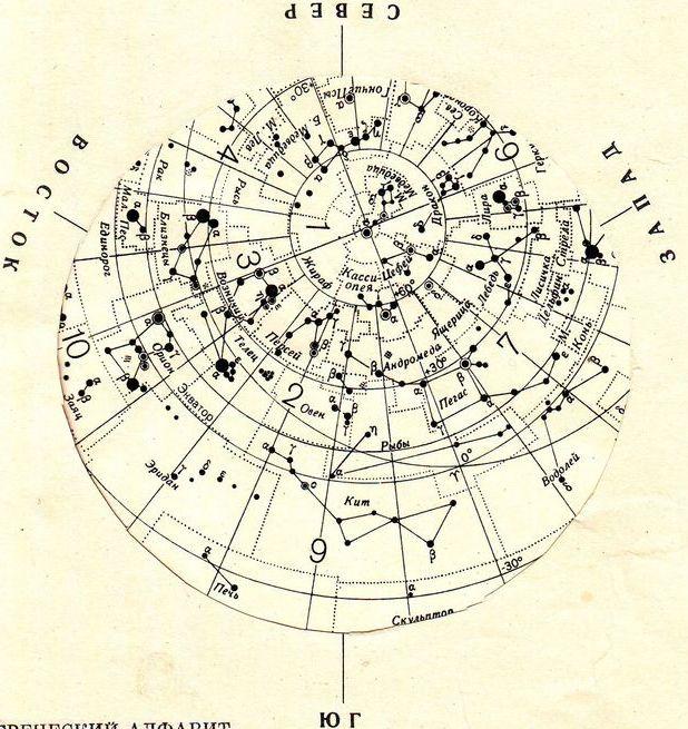 Осенние созвездия, которые видны с территории России