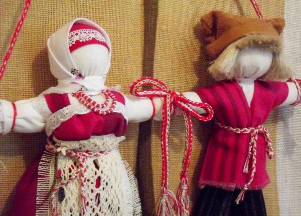 Кукла для молодоженов