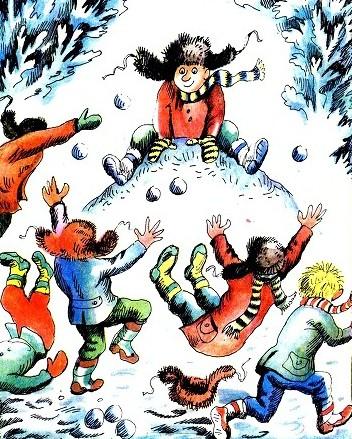 Игра изобрази зиму