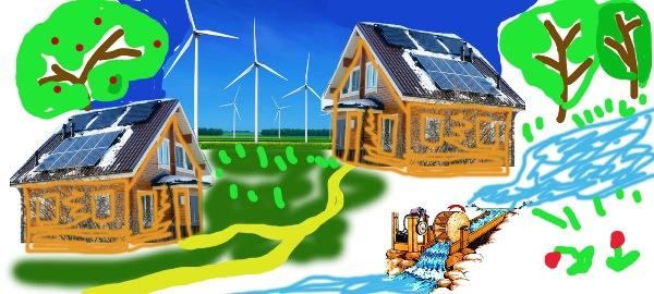 Экологически чистое поселение