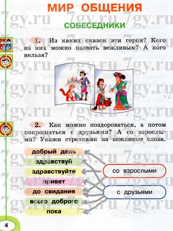 Класс гдз по 2 русскому учебнике в