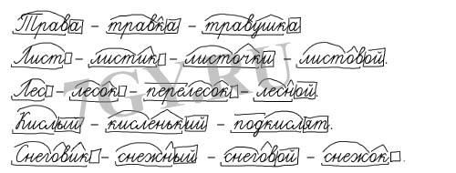 ГДЗ Русский язык 3 класс Учебник 1 часть. Климанова, Бабушкина. Ответы на задание 205