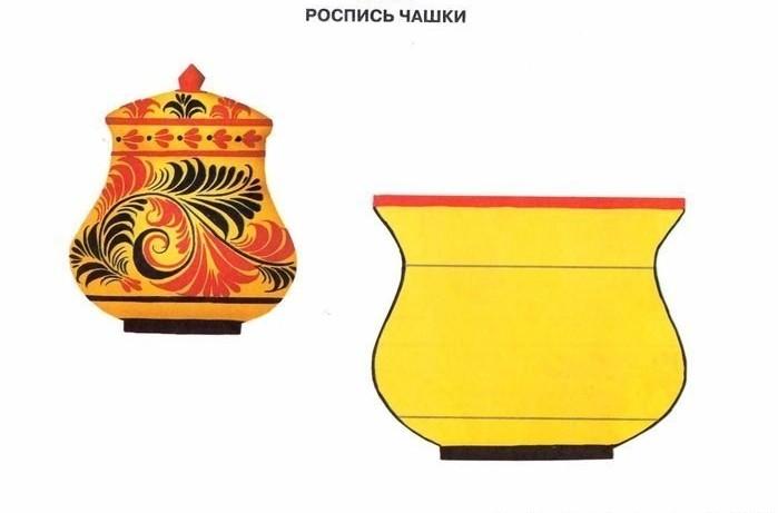Хохлома. Хохломская роспись.