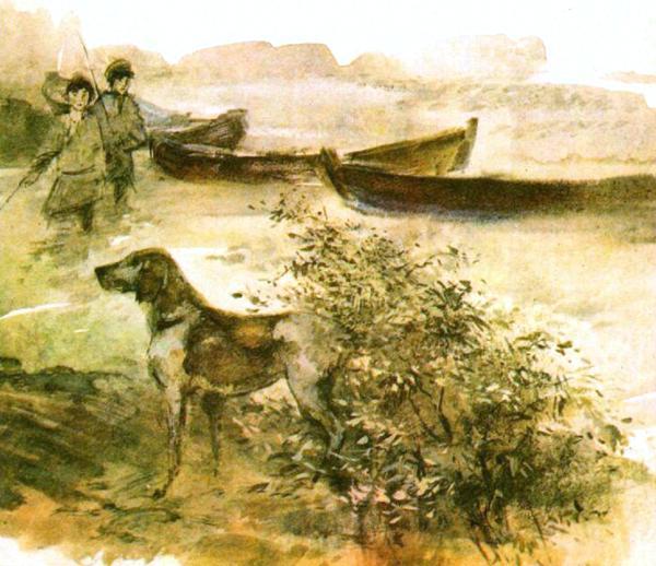 Дедушка Мазай и зайцы. Н.Некрасов. Читать онлайн или скачать