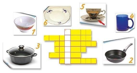 Посуда для мытья посуды сканворд