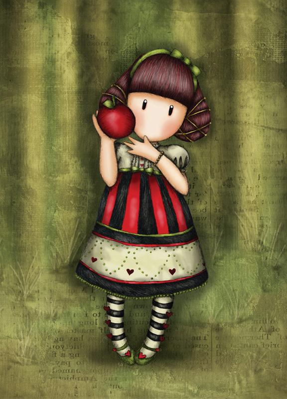 Кукла Элли с выкойкой (по мотивам иллюстраций Gorjuss Сьюзен Вулкотт)