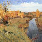 Сочинение по картине И.И. Левитана Золотая осень 3,4,5 класс