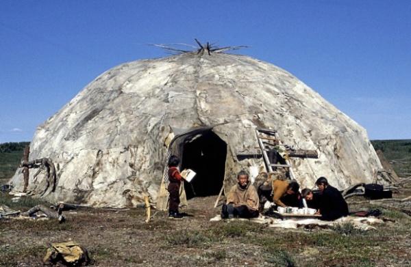 Старинные традиционные жилища разных народов