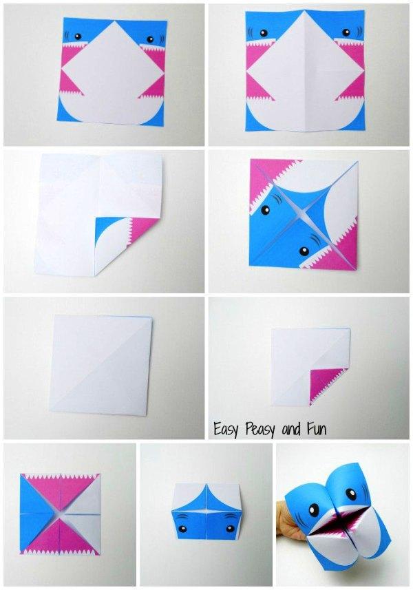 Игрушки схема оригами