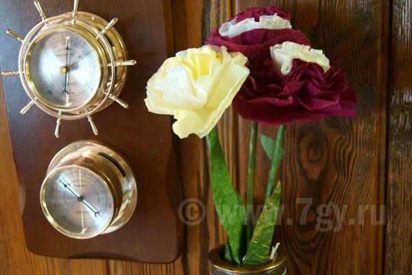 Букет цветов для мамы из салфеток своими руками
