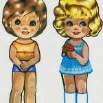 Бумажные куколки из детства