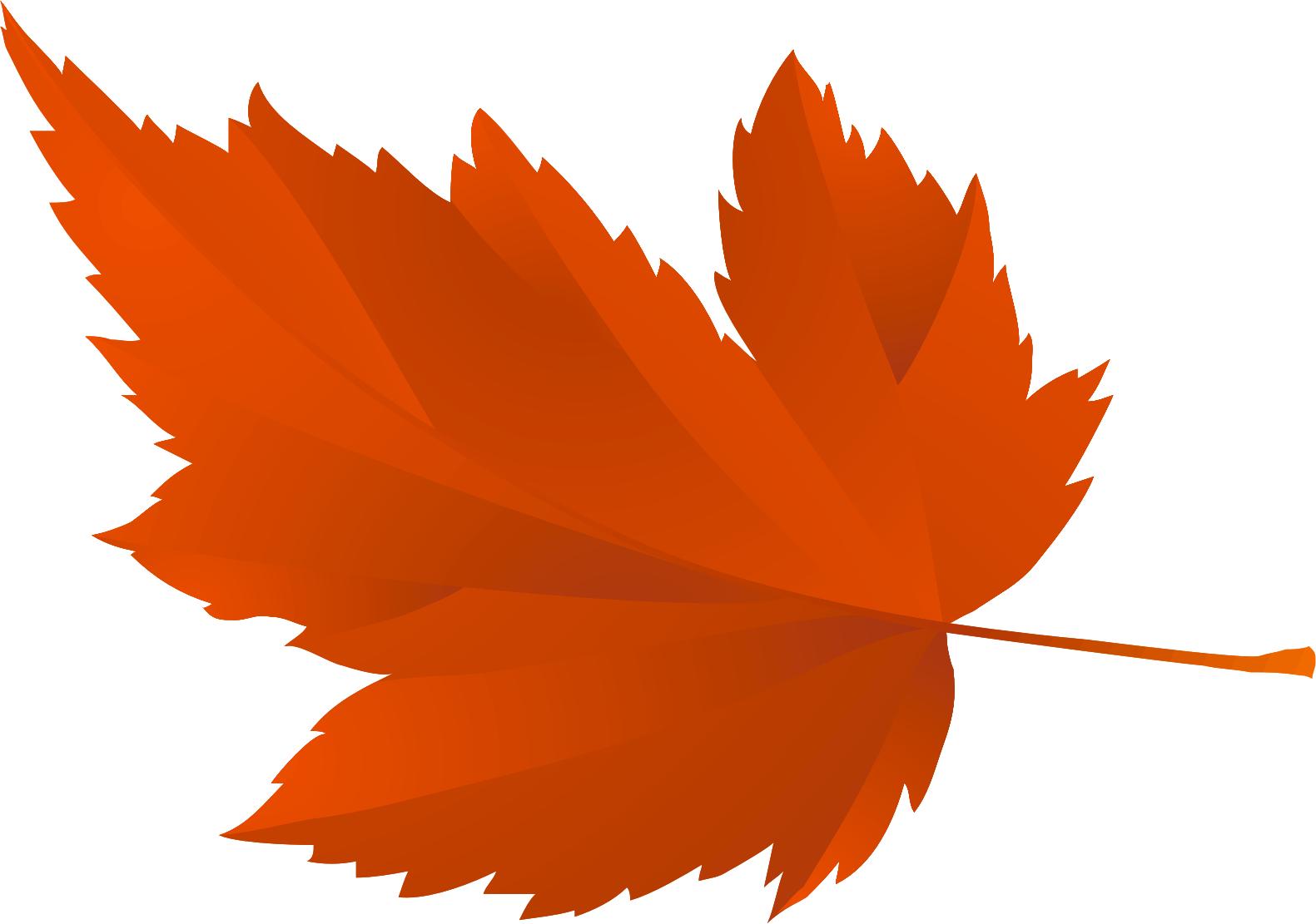 листок осенний картинки