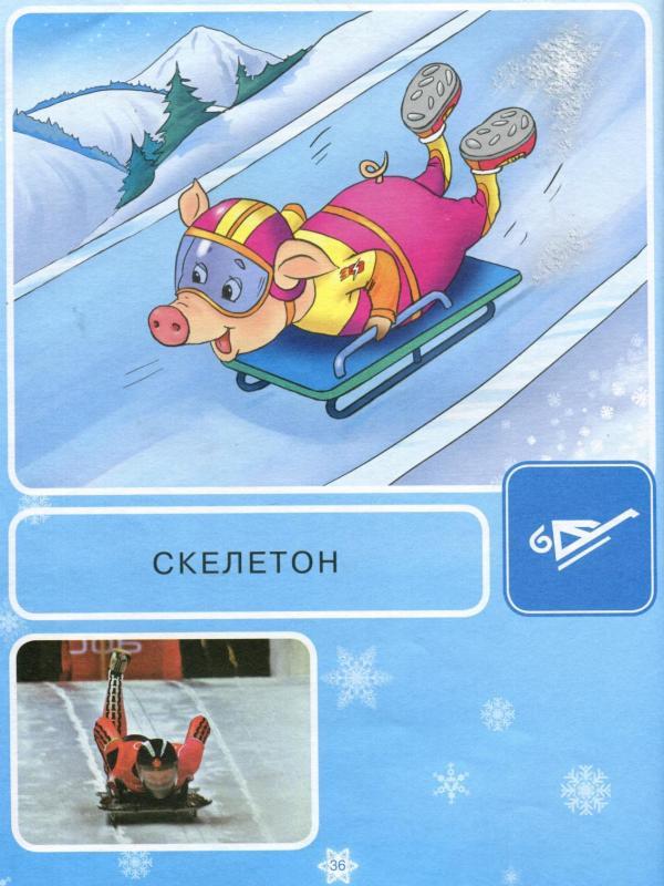 Зимние виды спорта в картинках и их названия