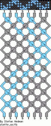 Схема фенечек из бисера.