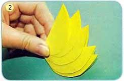 Аппликация цветы из цветной бумаги