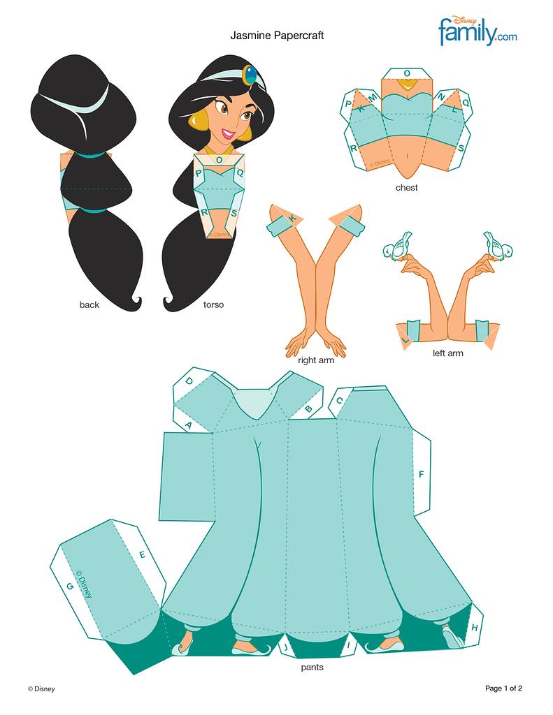 Оригами принцесс