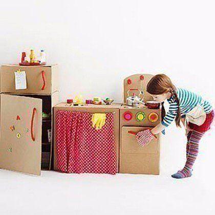 Поделки своими руками дом из коробки