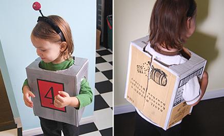 Поделки из картонных коробок своими руками