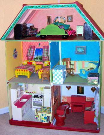 Детские домики для кукол своими руками фото фото 760
