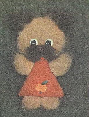 Новогодняя игрушка Мягкая звездочка Из ткани любого цвета вырезайте.
