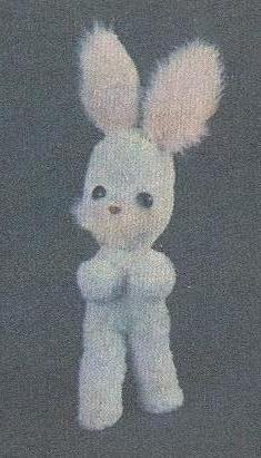 Мягкая игрушка зайчик с выкройкой