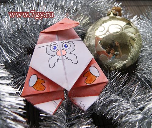 Дед мороз - елочная игрушка