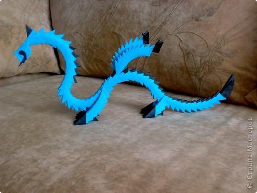 Простой дракон из модулей