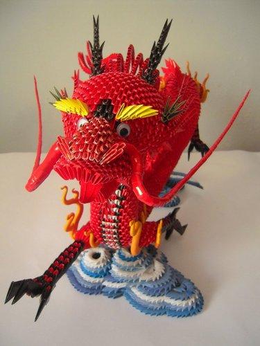 И самый красивый красный дракон made in