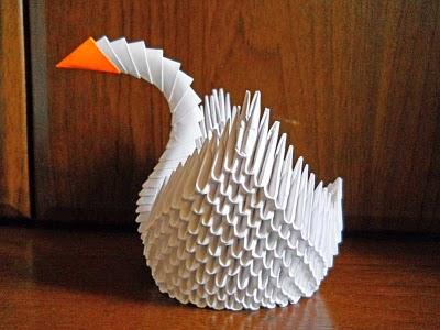 сова из модулей оригами пошаговая инструкция