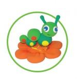 Как слепить гусеницу из пластилина или массы для лепки - пошаговая схема и мастер класс