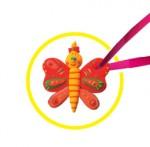 Как слепить бабочку из пластилина или массы для лепки - пошаговая схема и мастер класс