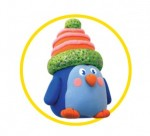 Как слепить пингвина из пластилина или массы для лепки - пошаговая схема и мастер класс