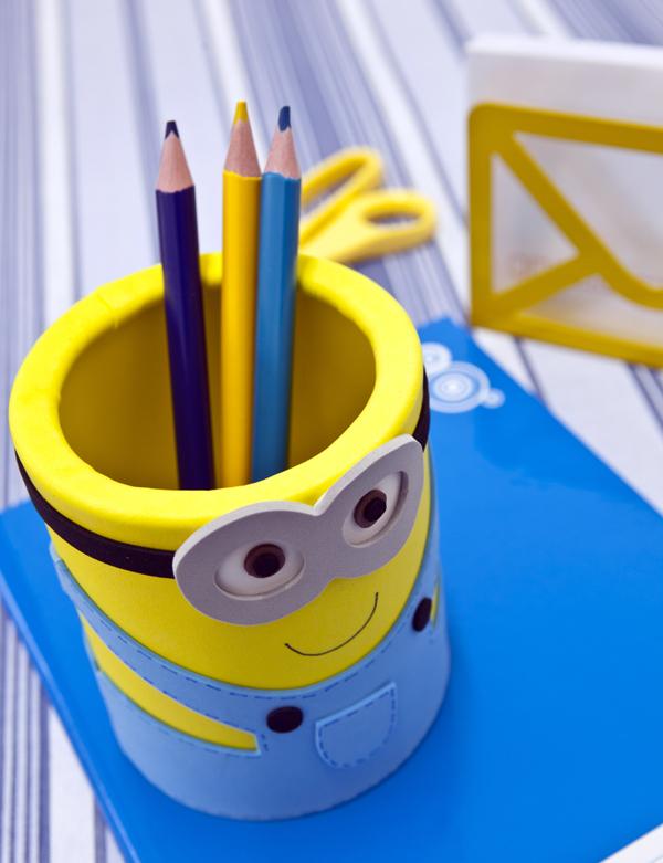 Миньон карандашница своими руками