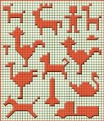 Графические диктанты по клеточкам