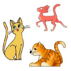 Поэтапный урок как нарисовать кошку