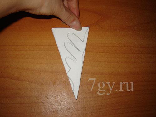 Как сделать снежинку из 1 бумаги